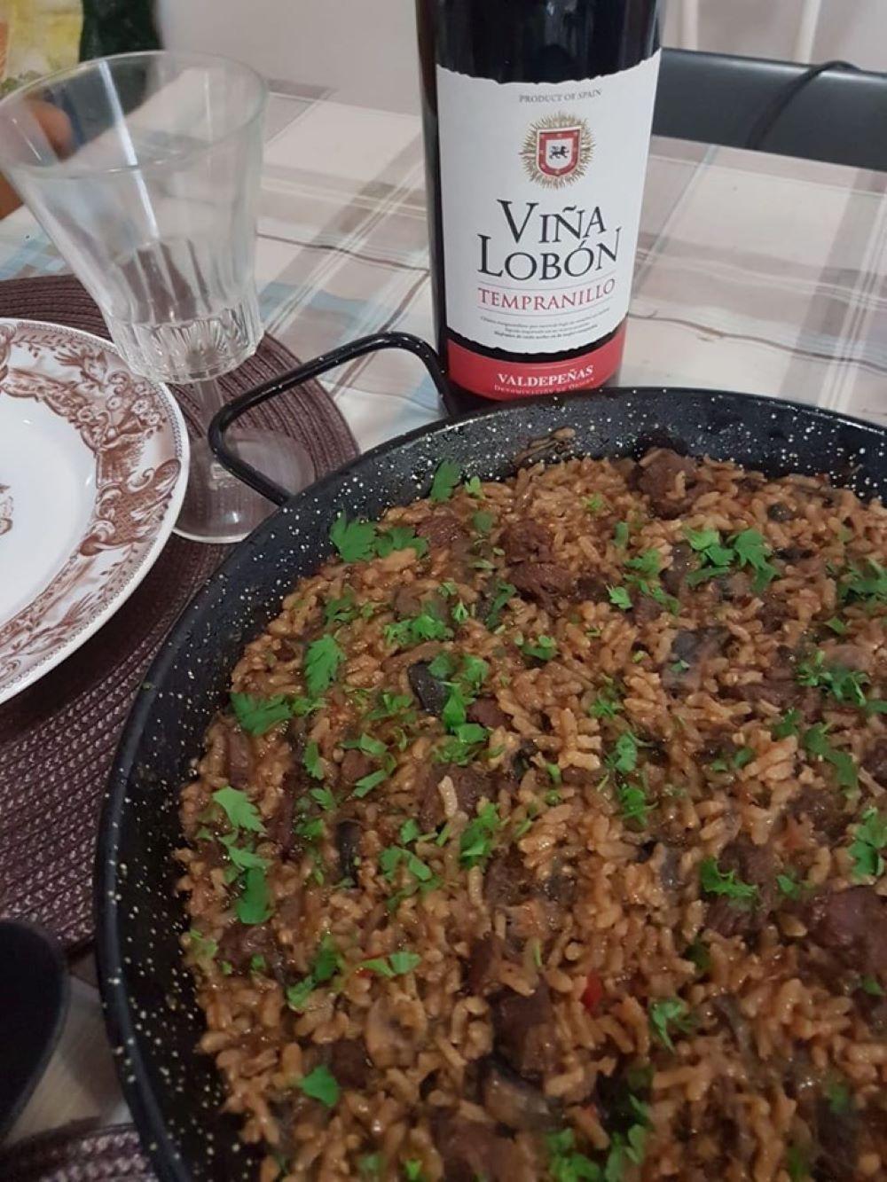 Receta de arroz con cierva. Cocinando Caza