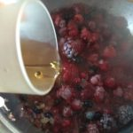 Receta de salsa de frutos rojos