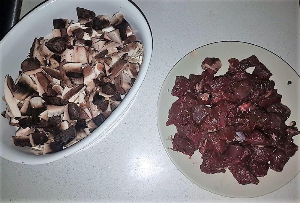 Receta de ciervo con arroz. Cocinando Caza