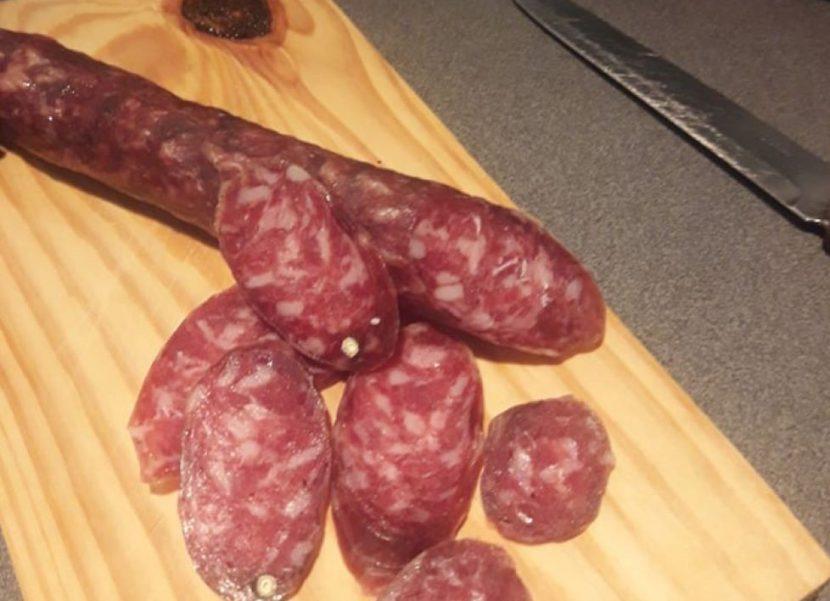 Receta y elaboración de salchichones- CocinandoCaza